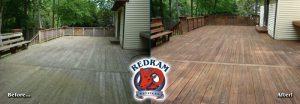 Wood Deck Cleaning Restoration