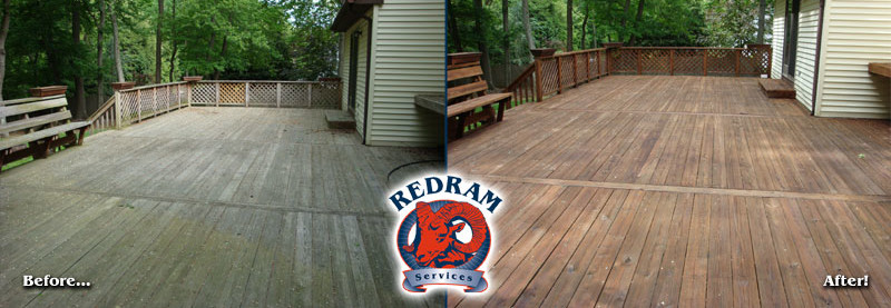 Wood Deck Cleaning Restoration